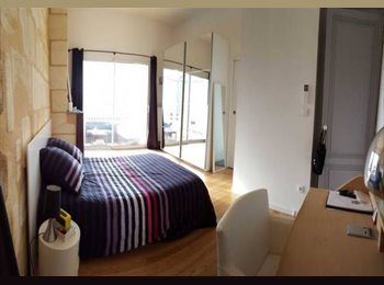 Appartager FR - chambre avec salon et sdb privés . Conditions demandées., Bordeaux - 400 € /Mois