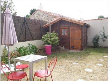 Appartager FR - une maison à partager dans un jolie cadre, Nantes - 450 € /Mois