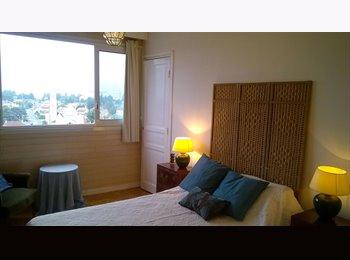 Appartager FR - Chambre avec vue, salle de douche privée avec WC et bureau séparé, Pau - 390 € /Mois