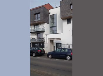 Appartager FR - CHAMBRE NUE DS BEAU DUPLEX TERRASSE DEGAGEE, Lille - 400 € /Mois