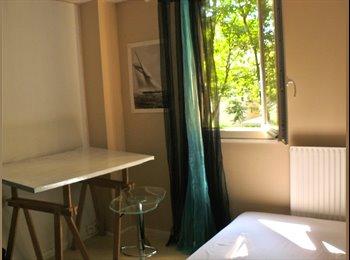 Appartager FR -  Une grande chambre (20m2) jolie, calme et claire., Paris - Ile De France - 395 € /Mois