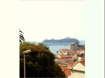 Appartager FR - Loue chambre dans bel appartement , Cannes - 550 € /Mois