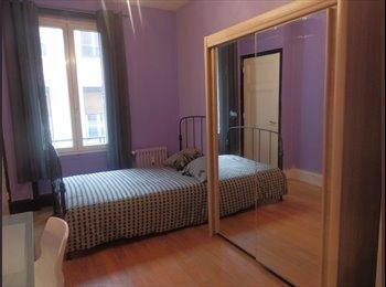Appartager FR - Chambre meublé avec salle de bain en centre ville, Saint-Étienne - 220 € /Mois