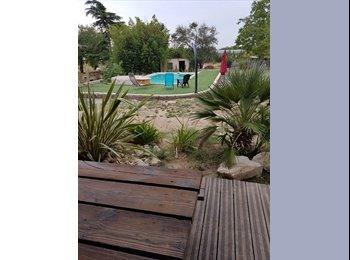 Appartager FR - Un coin de paradis , Saint-Hilaire-de-Brethmas - 300 € /Mois
