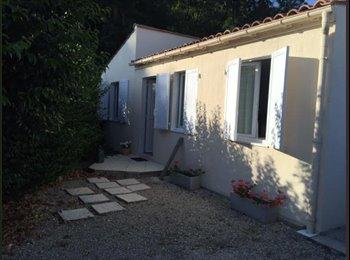 Appartager FR - Maison 67m2 rsd piscine parc , La Jarne - 370 € /Mois