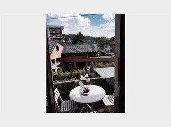Appartager FR - à louer grande chambre meublée en colocation 3 mois, Annecy - 450 € /Mois