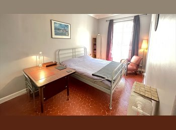 Appartager FR - Grand Chambre Double Avec Balcon, Nice - 570 € /Mois
