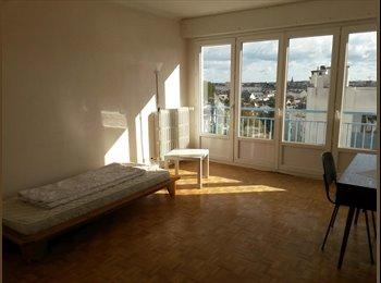 Chambre 12m² dans coloc - Rue de Fougère Rennes -  360€