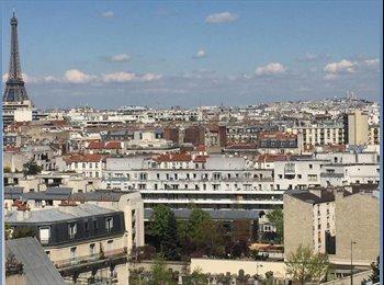 Sous location grand studio tout équipé Paris 15 ème