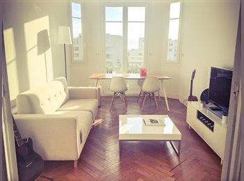 Appartager FR - 2 grandes chambres avec balcon chacune pour septembre, Nice - 650 € /Mois