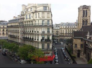 grande chambre hypercentre Paris