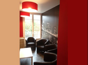 Appartager FR - Chbre meublée hyper centre Caen, quartier calme  prox fac commerces, Caen - 390 € /Mois