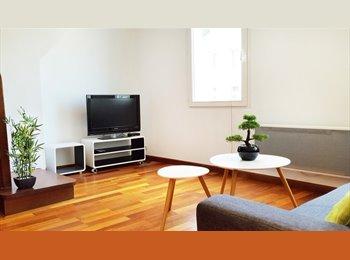 Appartager FR - Belle chambre dans un duplex en centre-ville du Havre, Le Havre - 450 € /Mois