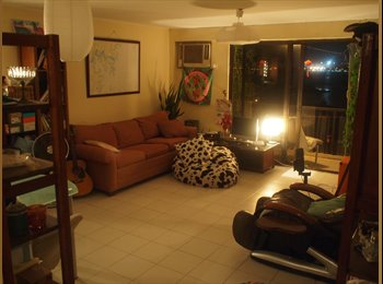 Furnished room in 700sqft top floor village house flat with...