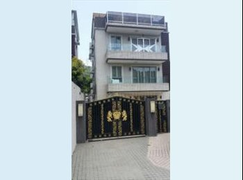 EasyRoommate HK - Flatmate wanted ~ to share a 700ft Apartment/Village House (plus 700ft garden) at Tai Po - Tai Po, Hong Kong - HKD15,000 pcm