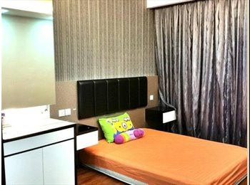 Spaciously furnished master room available in a two bedroom...