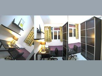 Spacious Room - Shared apartment in Wan Chai