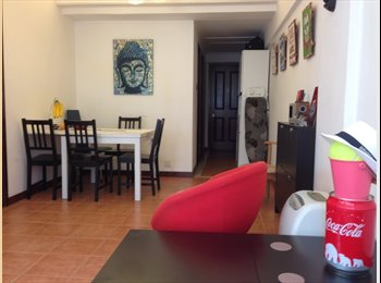EasyRoommate HK - Double room in flat to share in front of Fortress Hill MTR, Hong Kong - HKD8,500 pcm