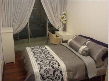EasyRoommate HK - Very nice master bedroom is available for rent in my apartment which is located in Midlevels central, Hong Kong - HKD6,000 pcm