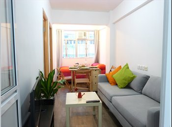 newly decorated  2 BR in Mong Kok, 5min to MTR
