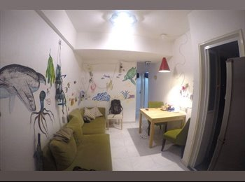 EasyRoommate HK - Large, sunny double bedroom with large windows near POLYU, Hong Kong - HKD5,300 pcm