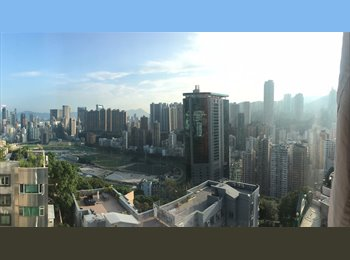 EasyRoommate HK - Beautiful, affordable room to share in spacious apartment with breathtaking view in Happy Valley, Hong Kong - HKD10,750 pcm