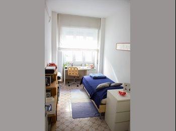 EasyStanza IT - [LIBERA DA LUGLIO 2017] Stanza singola in appartamento con terrazzo zona Metro B1 Sant'Agnese/Annib, Bologna-Nomentano - € 600 al mese