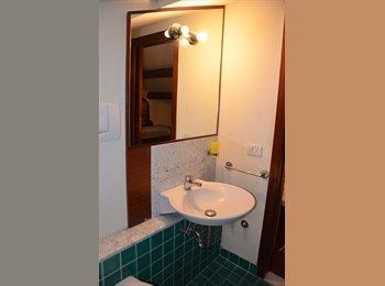 Bella stanza in mansarda con salottino bagno e terrazzo...