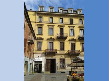 EasyStanza IT - Camera CENTRALE 5min Piazza Vittorio, Torino - € 350 al mese