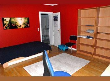 Voilà : chambre meublée- calme, central, jardin