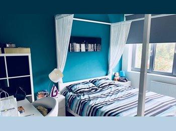 Appartager LU - Chambre meublée avec sdb privée dans une maison moderne - Esch-Alzette, Luxembourg - 600 € / Mois