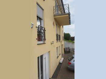 Appartager LU - GERMANY, ROOM +PRIVATE BATH TO LET IN A VILLA OVERLOOKING THE MOSELLE - Luxembourg Ville, Luxembourg - 550 € / Mois
