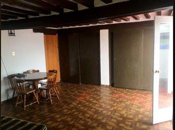 Rento 2 recamara San Ángel casa colonial