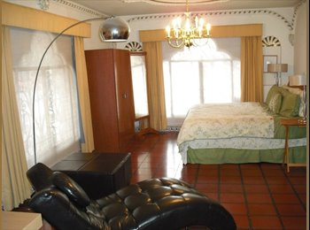 CompartoDepa MX - rento habitacion en colonia cuauhtemoc - Cuauhtémoc, DF - MX$6,000 por mes