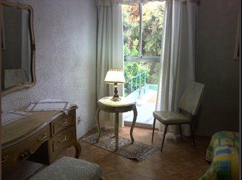 CompartoDepa MX - Hermosa habitación totalmente amueblada con internet y todos los servicios, Tlalpan - MX$5,000 por mes
