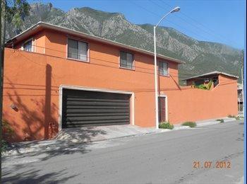 CompartoDepa MX -  RECAMARAS AMUEBLADAS CON SERVICIOS MINIQUINTA - Satélite y Sur de Mty, Monterrey - MX$3,500 por mes