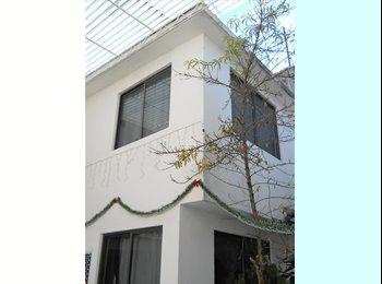 CompartoDepa MX - Habitaciones amuebladas desde $1200 mensuales - Tlalpan, DF - MX$1,200 por mes