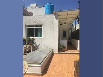 CompartoDepa MX - Casa amplia e iluminada - Cuauhtémoc, DF - MX$6,000 por mes
