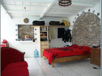Habitacion tipo Mini Depa amueblado en CENTRO de Puebla