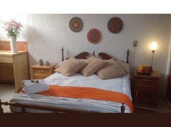 hermosas y limpias habitaciones amuebladas c/ baño