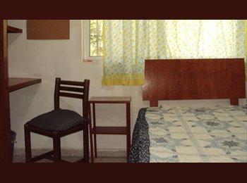 CompartoDepa MX - cuarto para señorita en Acoxpa  Villa  Coapa, Coyoacán - MX$3,000 por mes