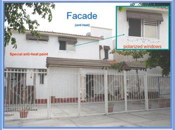 CompartoDepa MX - RENTO COMODO Y BONITO DORMITORIO CON PISCINITA!!! - La Paz, La Paz - MX$3,000 por mes