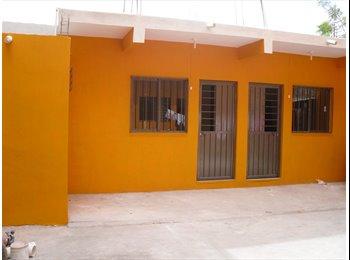 CompartoDepa MX - RENTO 1 CUARTO  INDEPENDIENTE A DAMA / ESTUDIANTE, Tuxtla Gutiérrez - MX$1,450 por mes