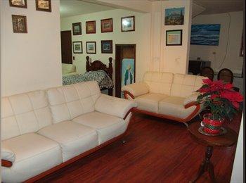 Rento departamento con dos habitaciones