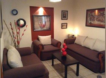 CompartoDepa MX - Se Renta habitacion en Departamento Amueblado, Guanajuato - MX$1,850 por mes