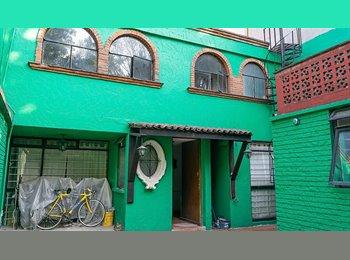 CompartoDepa MX - cuarto a 5 minutos del centro de coyoacan 10 de CU - Coyoacán, DF - MX$4,500 por mes