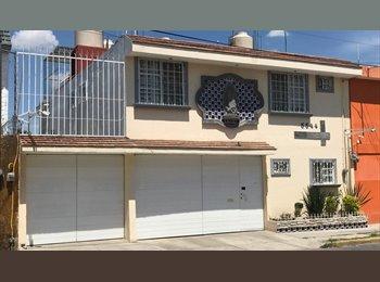 CompartoDepa MX - Vive tranquilo!! Habitaciones Solas o Compartidas - Otras, Puebla - MX$2,000 por mes