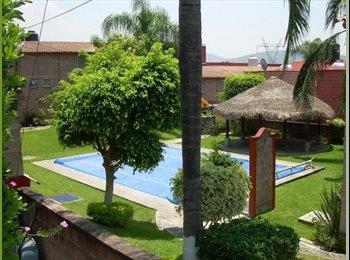 CompartoDepa MX - Comparto Casa Con Alberca  Cuernavaca - Temixco, Temixco - MX$1,900 por mes