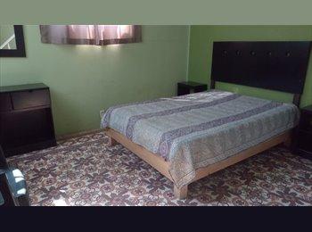 CompartoDepa MX - Renta de cuartos (Casa-Pension) Excelente Ubicacio, Puebla - MX$1,800 por mes