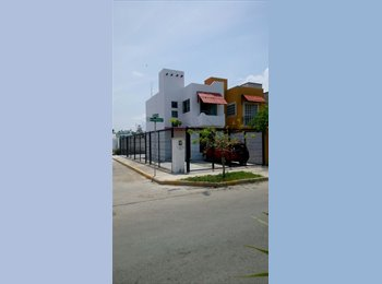 CompartoDepa MX - Preciosa casa amueblada  PdelC  cocina equipada - Playa del Carmen, Cancún - MX$6,000 por mes